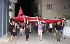 Çine'de teröre lanet yürüyüşü düzenlendi