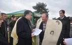 Çineli çobanlara kıl keçisi dağıtıldı
