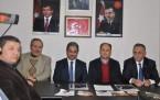 AKP aday adayları, İlçe Teşkilatını ziyaret etti