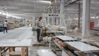 Çineliler, Söke OSB'de Seramik Fabrikasını Gezdi