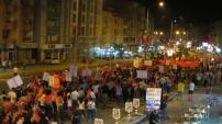 """Çine'de 'Cumhuriyet ve Demokrasi Yürüyüşü"""" gerçekleştirildi"""