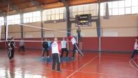 Çine'de Öğretmenler Arasındaki Voleybol Turnuvası Sona Erdi