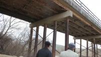 Başkanlar, Çaltı Köprüsü inşaatını inceledi
