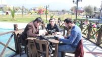 Yüzlerce Öğrenci Kalabak Parkı'nda kitap okudu