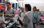 MHP'li Kozan Çinelilerle buluştu
