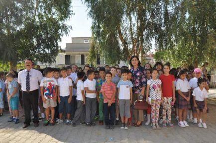 2014-2015 Eğitim Ve Öğretim Yılının Ders Zili Çaldı