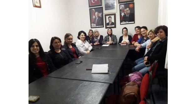 AK Partili Kadınlar çalışmaya Çineden başladı