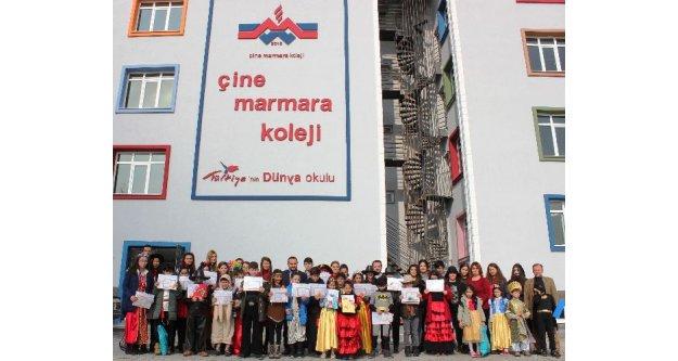 Özel Çine Marmara Kolejinde İlk Karne Heyecanı