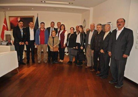 Germencik CHP İlce Yönetimi'nden Çerçioğlu'na Ziyaret