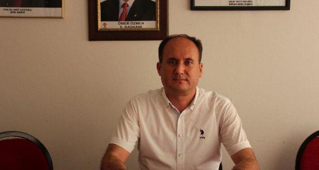 """AK Parti İlçe Başkanı Tosun, 'Milletimizin İstemediğini Yapmadık"""""""