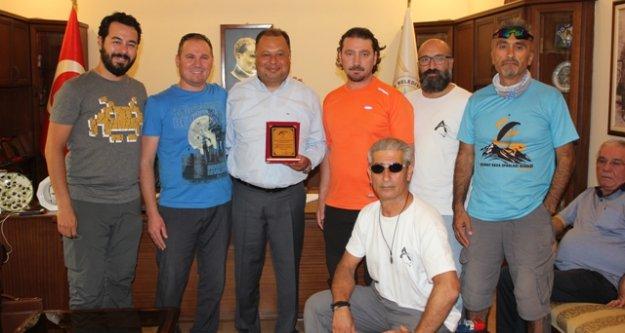 Ayhavk, Başkan Dinçer'e Teşekkür Etti