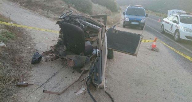 Kapuzlu'da trafik kazası: 1 ölü, 2 yaralı