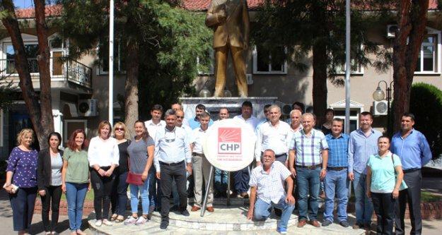 CHP Çine İlçe Örgütü, 94. yıl dönümü törenle kutladı