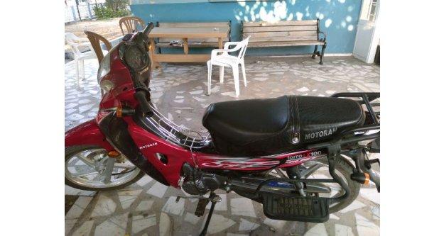 Çine'de Motosiklet Hırsızlığı