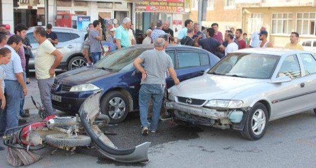 Çine'de Trafik Kazası; 1 Yaralı