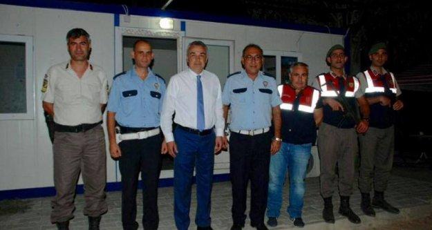 Mustafa Savaş, Bayramda Görevli Güvenlik Güçlerini Ziyaret Etti