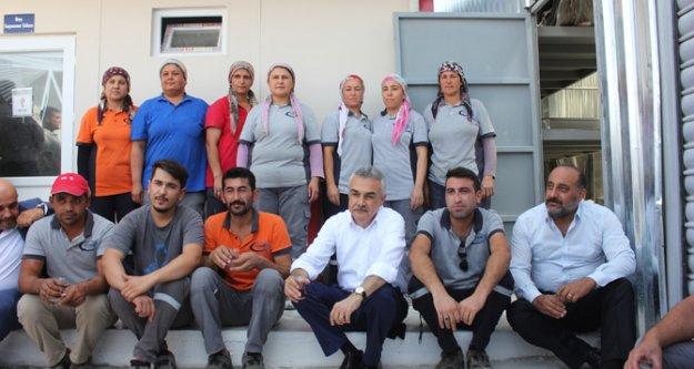 Mustafa Savaş, Eysim Maden İşçileriyle Bir Araya Geldi