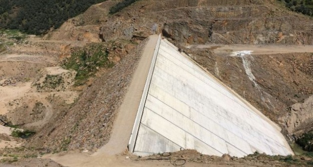 Çine Gökbel Barajıyla 210 Bin 690 Dekar Zirai Arazi Suya Kavuşacak
