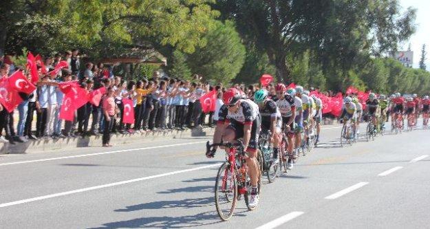 Çine'den, 53. Cumhurbaşkanlığı Bisiklet Turu Geçti