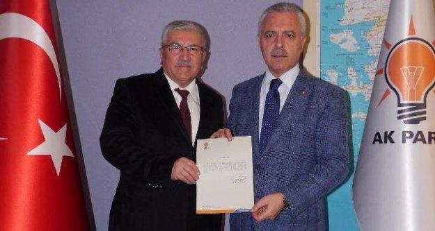 AK Parti Aydın İl Başkanı Ahmet Ertürk Yetki Belgesini Aldı