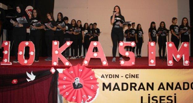 Çine'de 10 Kasım Atatürk'ü Anma Günü etkinlikleri