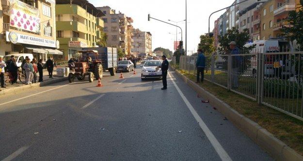 Çine'de ışık ihlali kazaya neden oldu: 2 kişi yaralandı