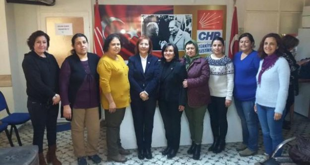 CHP Çine Kadın Kolları'nda Kırmızıgül Dönemi