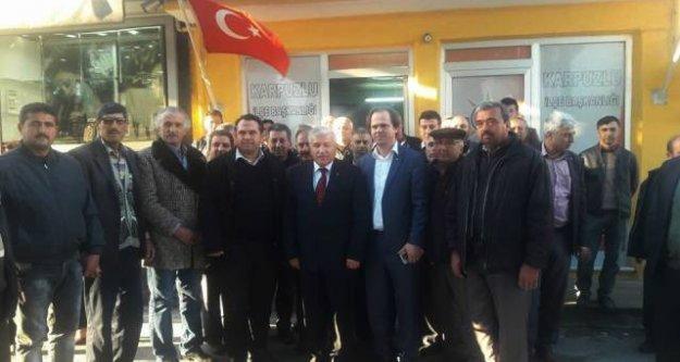 Ertürk, Karpuzlu İlçe Teşkilatını Ziyaret Etti