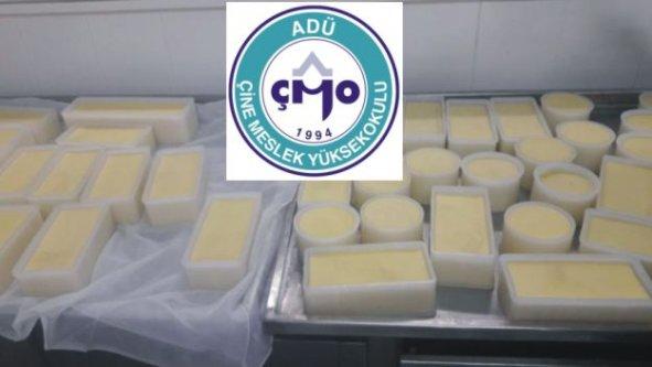 Çine MYO'da İlk Kaşar Peyniri Üretildi