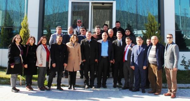 MHP'li Depboylu, EYSİM Madeni Ziyaret Etti