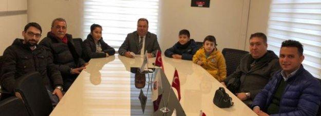 Öğrenciler Başkan Dinçer'i Ziyaret Etti