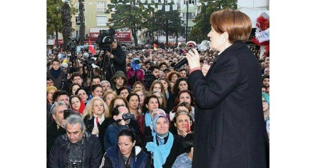 İYİ Parti Aydın'da Akşener Rüzgarı