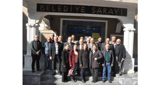 İYİ Parti İlçe Teşkilatı, Başkan Dinçer'i Ziyaret Etti