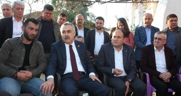Aydın Milletvekili Savaş'tan, Afrin Gazisi Hakan Oktay'a Ziyaret