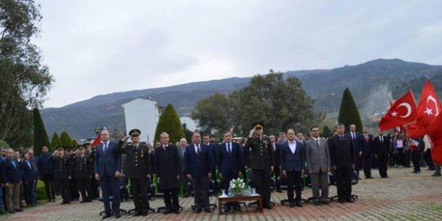 Çine'de,18 Mart Şehitleri Anma Günü ve Çanakkale Zaferi'nin 103. Yıldönümü