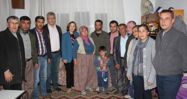 MHP Milletvekili Depboylu, Afrin Gazisi Oktay'ı Ziyaret Etti