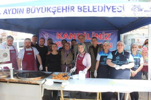 Aydın Büyükşehir Belediyesi Miraç Kandili İçin Hayır Dağıttı