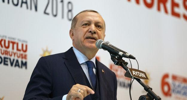 """Cumhurbaşkanı Erdoğan: ' Aydın, Türkiye'de Demokrasinin Başkenti"""""""