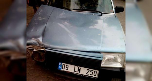 Tali Yoldan Çıkan Otomobil Kaza Yaptı: 2 Yaralı