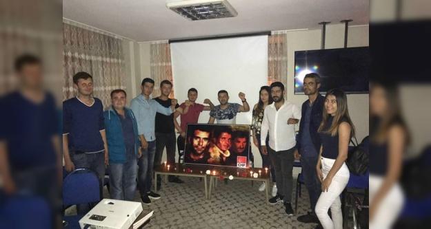 CHP'li Gençler Deniz Gezmiş ve Arkadaşlarını Andı