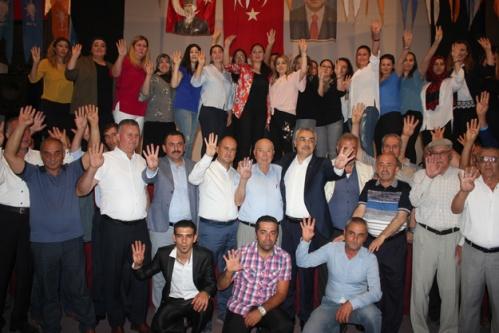 AK Parti Çine'de Savaş'la Çıkarma Yaptı
