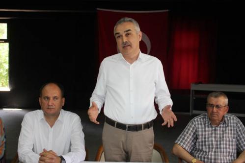"AK Parti Milletvekili Savaş, 'Sizlerden alacaklıyım"""