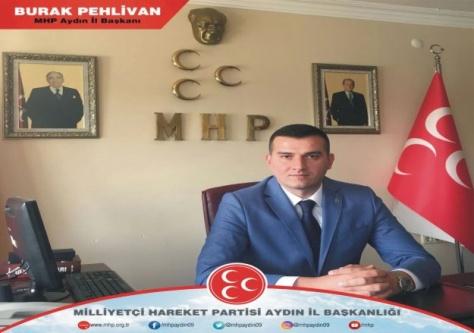 Aydın MHP, Marmara Depremi Kurbanlarını Unutmadı