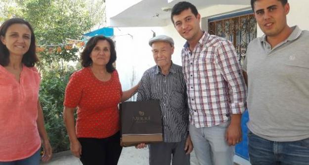 CHPden Gazilere Ziyareti