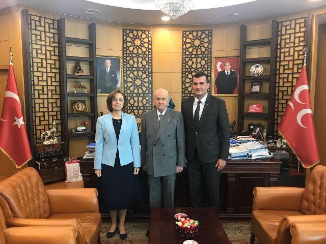 MHP'li Pehlivan, Yerel Seçim Çalışmalarını Devlet Bahçeli'ye Anlattı
