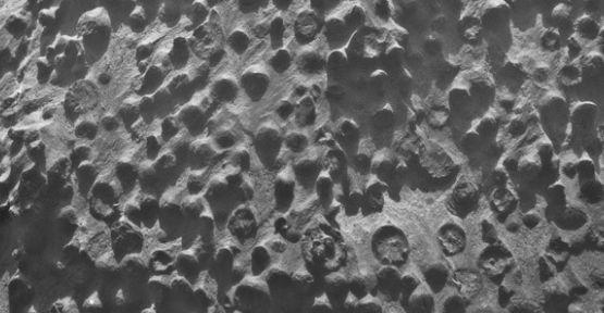 Mars'ta esrarengiz küreler keşfedildi