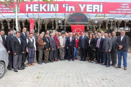 MHP Aydın Milletvekili Adaylarından, motivasyon ziyareti