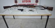 Uyuşturucu Ve Ruhsatsız Silah Yakalandı