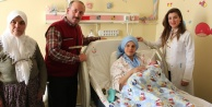 1,5 yıl aradan sonra hastanede ilk bebek dünyaya geldi