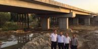 AK Partili Öz, Karpuzlu Çaltı Köprü çalışmalarını inceledi